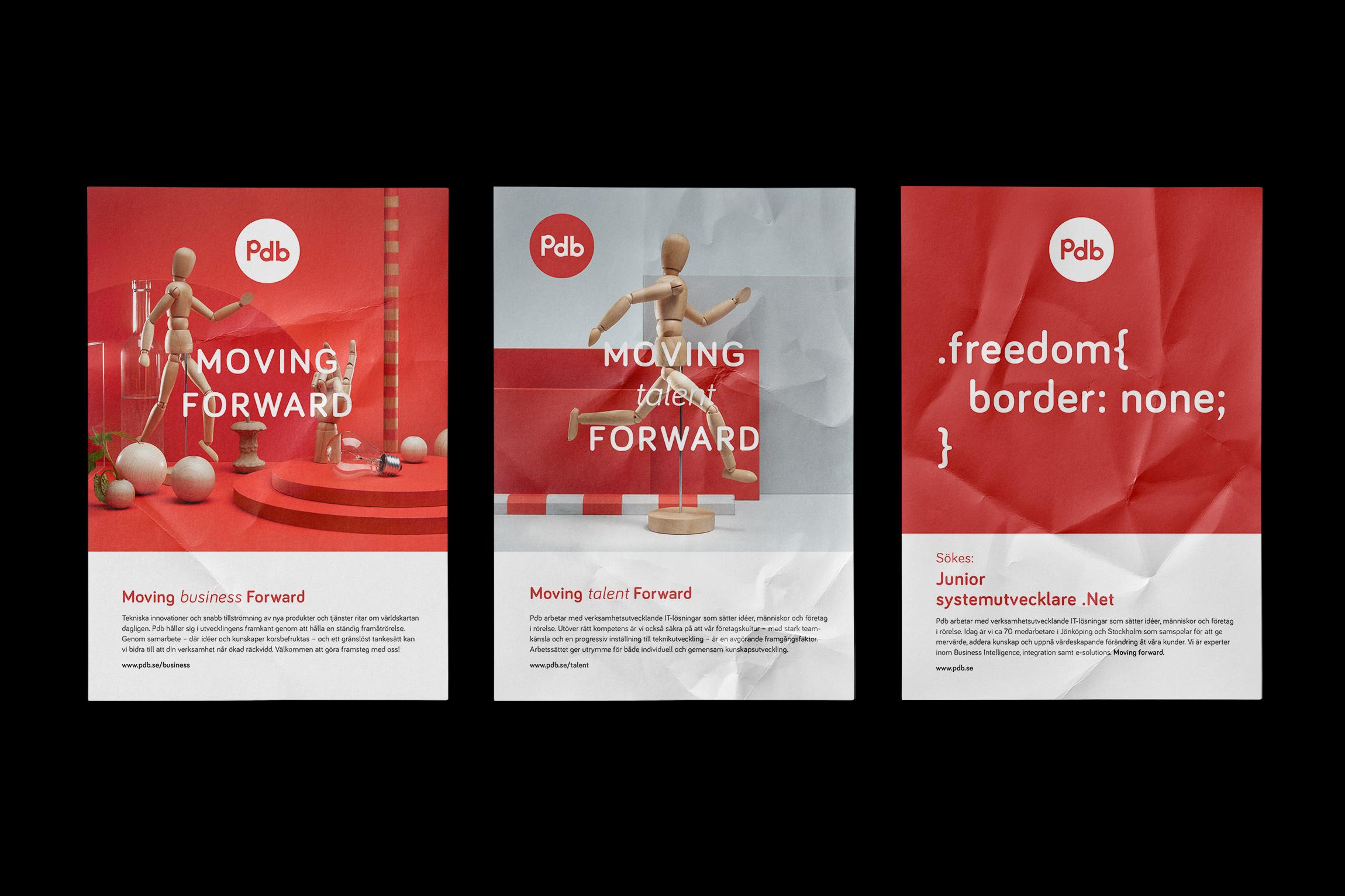 Posters för PDB