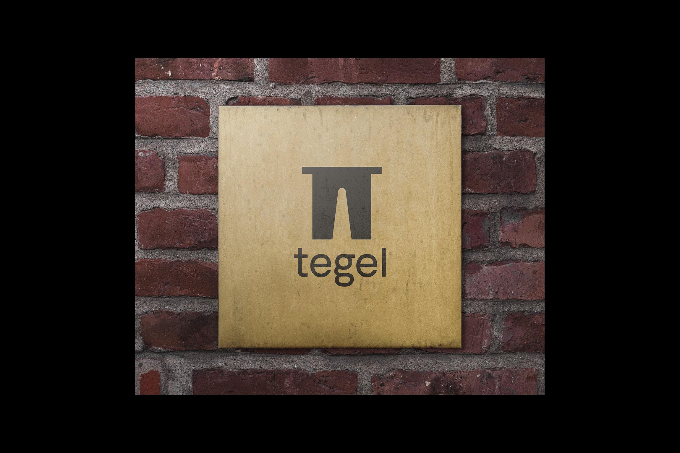 Skylt för Tegel